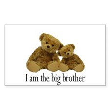 Two Bears Big Brother Decal
