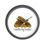 Two Bears Big Brother Wall Clock