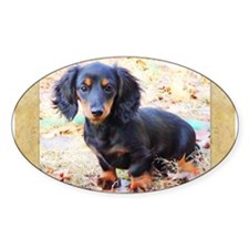 Puppy Love Doxie Decal
