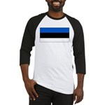 Estonia Estonian Blank Flag Baseball Jersey