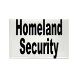 Homeland Security Rectangle Magnet