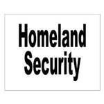 Homeland Security Small Poster