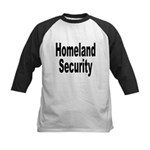Homeland Security Kids Baseball Jersey