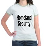 Homeland Security (Front) Jr. Ringer T-Shirt