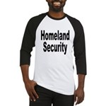 Homeland Security Baseball Jersey