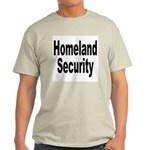 Homeland Security (Front) Ash Grey T-Shirt