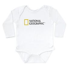 National Geographic Long Sleeve Infant Bodysuit
