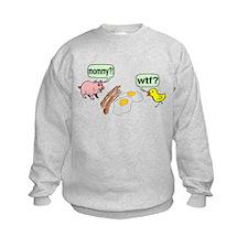 Bacon And Eggs Nightmare Sweatshirt