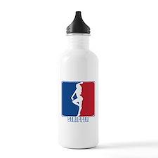 Major League Stripper Sports Water Bottle