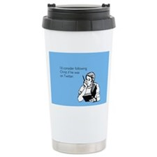 Christ Twitter Ceramic Travel Mug