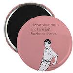 Mom Facebook Magnet