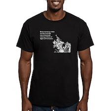 Being Around You Men's Fitted T-Shirt (dark)