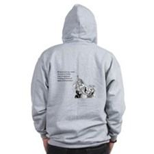 Being Around You Zip Hoodie