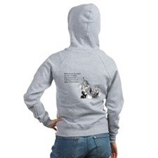 Being Around You Women's Zip Hoodie