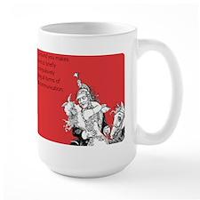 Being Around You Large Mug
