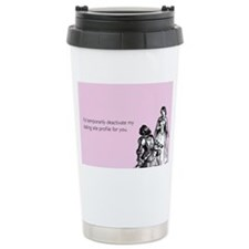 Dating Profile Stainless Steel Travel Mug