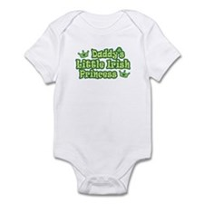 Daddy's Little Irish Princess Infant Creeper