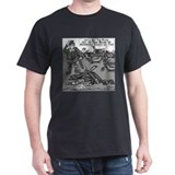 Dick Cheney Shooting Accident Black T-Shirt