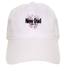 New Dad 2011 (Girl) Baseball Cap