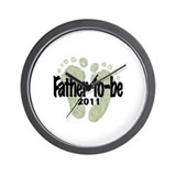 Father to Be 2011 (Unisex) Wall Clock