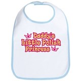 Daddy's Little Polish Princess Bib
