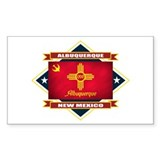 Albuquerque Flag Decal