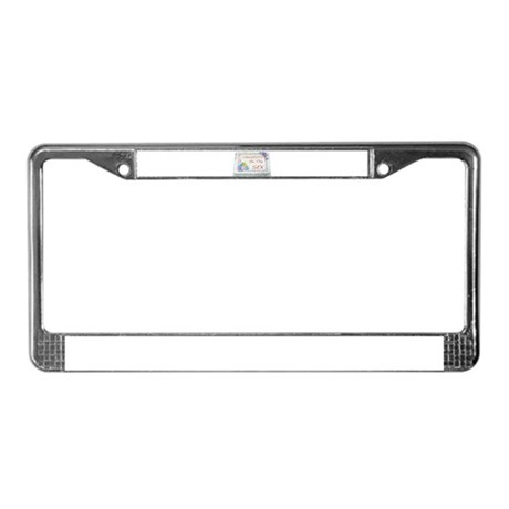 I Had Sex License Plate Frame