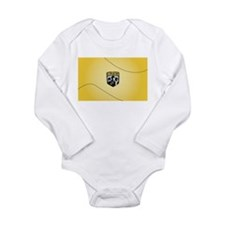 Cute Columbus Long Sleeve Infant Bodysuit