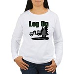 Log On Women's Long Sleeve T-Shirt