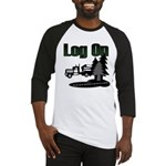 Log On Baseball Jersey