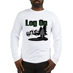 Log On Long Sleeve T-Shirt