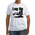 Log On Fitted T-Shirt