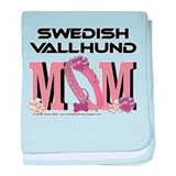 Swedish Vallhund MOM baby blanket
