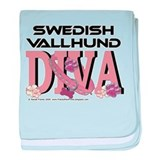 Swedish Vallhund DIVA baby blanket
