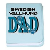 Swedish Vallhund DAD baby blanket