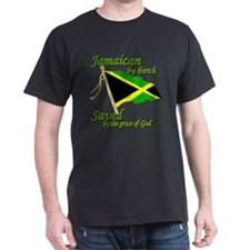 Jamaican by birth T-Shirt