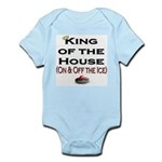 King of the House2 Infant Creeper