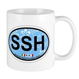 Seaside Heights NJ - Sand Dollar Design Small Mug