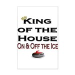 King of the House2 Mini Poster Print