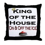 King of the House2 Throw Pillow