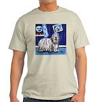 BERGAMASCO SHEEPDOG smiling m Ash Grey T-Shirt