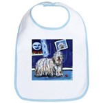 BERGAMASCO SHEEPDOG smiling m Bib