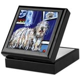 BERGAMASCO SHEEPDOG smiling m Keepsake Box