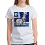 BERGAMASCO SHEEPDOG smiling m Women's T-Shirt
