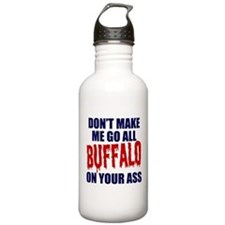 Buffalo Football Water Bottle