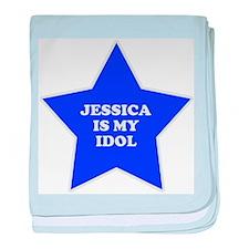 Jessica Is My Idol baby blanket
