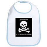 Unique Skull crossbones Bib