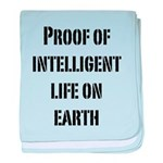 Intelligent Life baby blanket