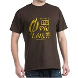 Phi Collage Black T-Shirt