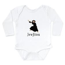 JewJitsu Long Sleeve Infant Bodysuit